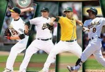 Oakland Athletics 2012 Calendar