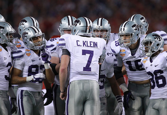 Collin Klein tied Ricky Williams in rushing touchdowns in Big 12 with 27