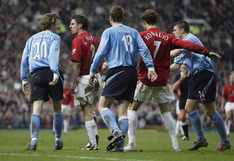 McManaman was involved in the last match between City and United in the FA Cup