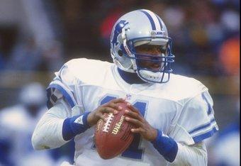 Former Detroit Lions quarterback Andre Ware