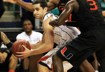 Sammy Zeglinski disrupted a last second Miami shot at victory.