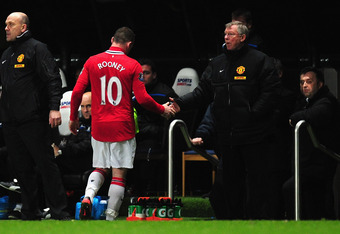Sir Alex Ferguson should determine how best to play Rooney.