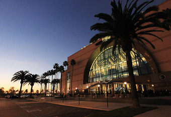 The Honda Center holds 18,336.