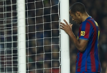 Henry had a poor final season with Barcelona