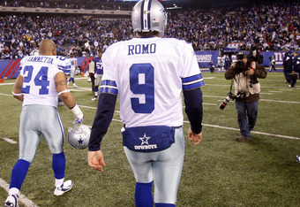 Romo comes up short of his counterparts.