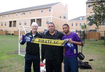 Brendan Keyes (left)