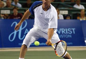 John McEnroe in World TeamTennis action