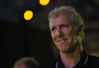 WESTWOOD, CA - JUNE 26:  Former UCLA and NBA player Bill Walton attends the memorial for former UCLA basketball coach John Wooden June 26, 2010 at Pauley Pavilion on the University of California Los Angeles campus in Westwood, California. Wooden died June