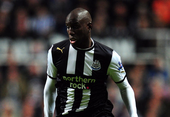 Newcastle United's Demba Ba is a prospected Liverpool target