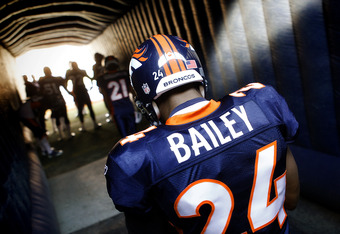Denver Broncos cornerback Champ Bailey.