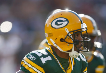Green Bay Packers cornerback Charles Woodson.