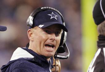 Dallas Head Coach Jason Garrett