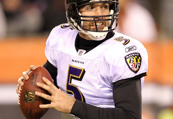 Flacco is a product of his defense which makes him look good by keeping games close. Prove me wrong Joe! Prove me wrong! Surely you should be able to beat a 3rd string rookie QB, right?