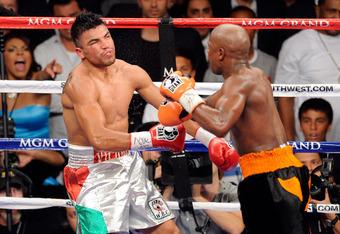 Floyd Mayweather vs. Victor Ortiz