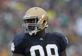 DE Kapron Lewis-Moore is expected to return for a fifth year in 2012 to be the veteran to lead an otherwise young defensive line.