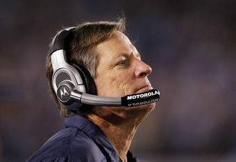 Annual playoff choker Norv Turner didn't even make it that far when the team unsurprisingly collapsed---again. Not exactly going to inspire season ticket holders to renew, now is it?