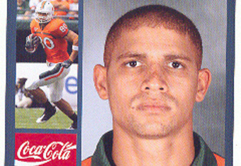 2010 Senior Bowl Miami TE Jimmy Graham