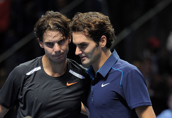 Nadal and Federer are battling injuries.