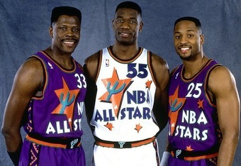 Ewing, Mutombo and Mourning were three of the NBA's best centers in the '90s.