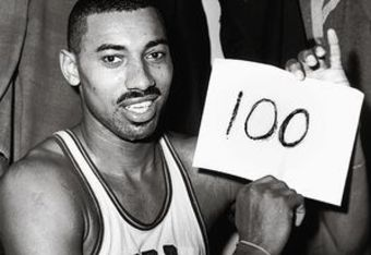 On March 2, 1962 Wilt scored 100 points in a game