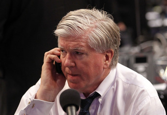 Maple Leafs GM Brian Burke