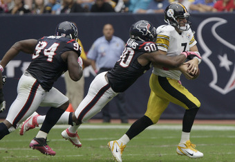 Mario Williams has been a beast for the Texans' defense but there may not be enough money or cap space to resign the Pro Bowl defensive end.
