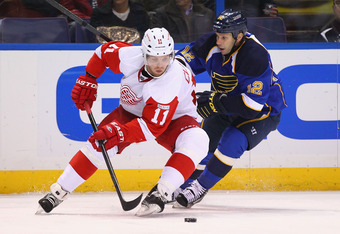 Blues vs Red Wings is getting more heated with every game