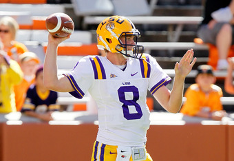 Zach Mettenberger is strong and accurate and should complement the powerful LSU running game.