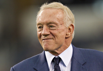 Cowboys owner Jerry Jones