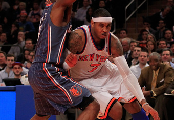 Carmelo and Amare would both benefit from Nash at the point.
