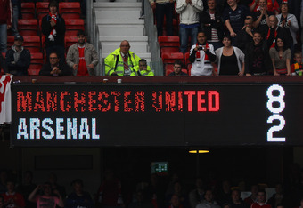 The last time these two sides met, United had a record-breaking win over Arsenal