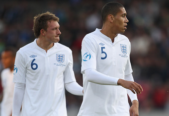 Future England stars Phil Jones and Chris Smalling will probably play in this game