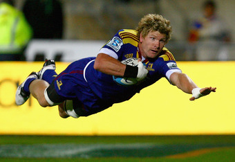 Adam Thomson was the Highlanders' best player in 2011 and will be a certainty to start in 2012.