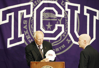 Big 12 Commissioner Chuck Neinas announces addition of TCU.  Will he be doing this for WVU shortly?