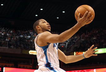 Eric Gordon has only played in two games this year due to a knee injury.