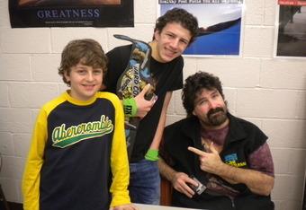 Meeting Mick Foley