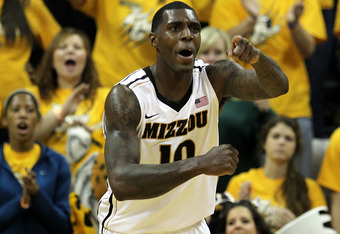 Ricardo Ratliffe led Missouri with 27 points in the win at Baylor