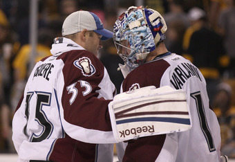 J.S. Giguere is the ideal mentor for young Semyon Varlamov