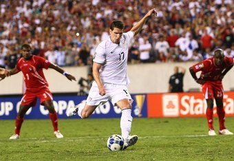 Kenny Cooper's penalty was the winner against Panama in the 2009 Gold Cup