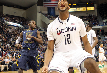 Connecticut freshman Andre Drummond would have been best served by never setting foot on UCONN's campus.