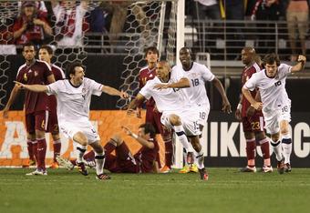 Ricardo Clark scored the winning goal for the USA vs Venezuela