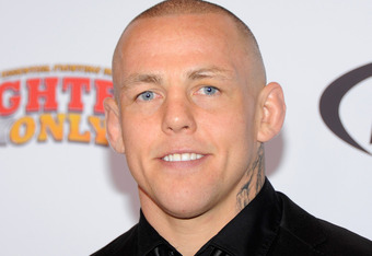 LAS VEGAS, NV - NOVEMBER 30:  Mixed martial artist Ross Pearson arrives at the Fighters Only World Mixed Martial Arts Awards 2011 at the Palms Casino Resort November 30, 2011 in Las Vegas, Nevada.  (Photo by Ethan Miller/Getty Images)