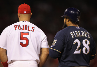 National League rivals become American League foes, Albert Pujols and Cecil Fielder jumped ship from the NL to the AL this off-season, earning huge contracts and shooting them into MVP contention out of the gate.