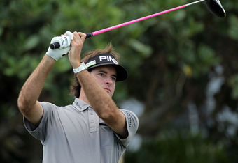 Not only is Bubba Watson huge off of the tee, he's also the defending champion of the Farmers Insurance Open.