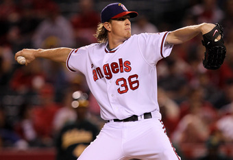 Weaver signed a five-year, $85 million deal with the Angels