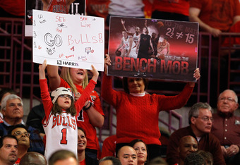 The Bulls Bench consists of at least 3 guys who would start on any other team