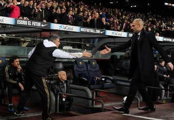 Mou and Pep: Good game