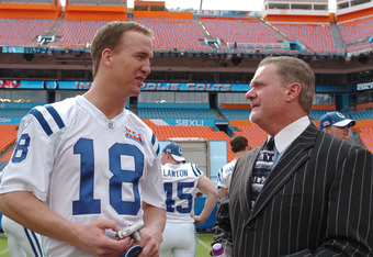 Manning and Irsay in 2007