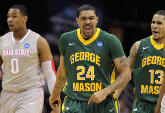 Ryan Pearson and George Mason are currently holding onto a one-game lead in the CAA