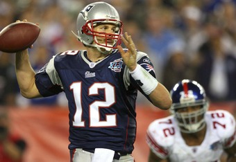 The Patriots are looking to avenge their 2008 Super Bowl loss to the Giants. A game which ended their perfect season.